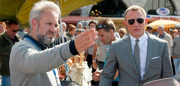 Sam Mendes and Daniel Craig