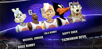 Space Jam in NBA 2K14
