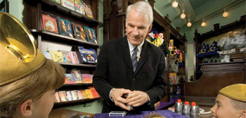 Steve Martin & Disney Up to New Tricks with 'Magic Camp' Comedy