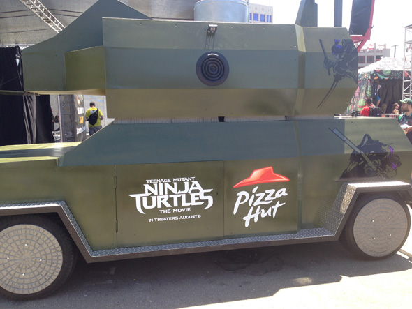 TMNT Pizza Thrower