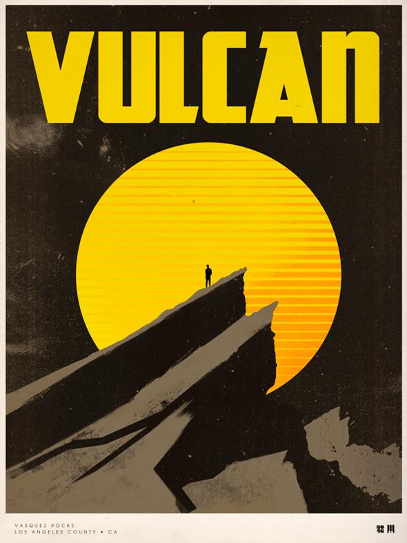 Justin Van Genderen Vintage Travel Posters