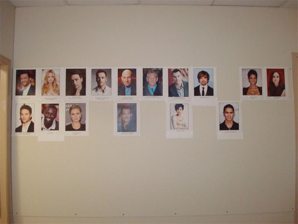 X-Men: Days of Future Past - Cast Wall