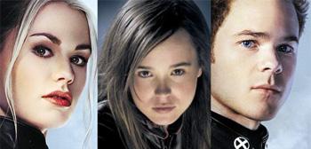 Anna Paquin / Ellen Page / Shawn Ashmore