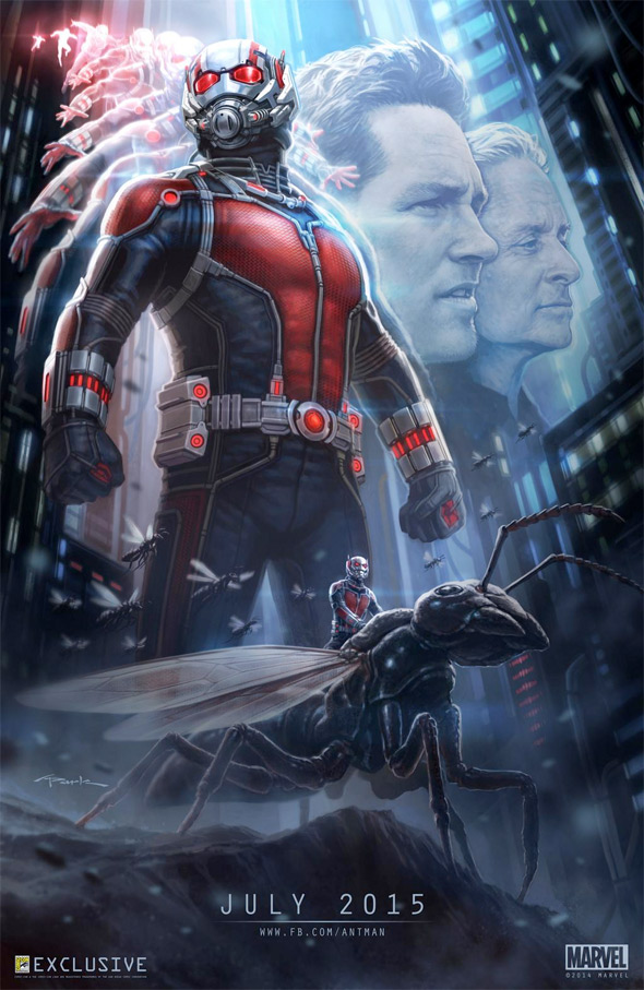 Ant-Man Comic-Con Poster Art