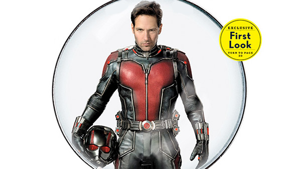 Ant-Man Entertainment Weekly Cover