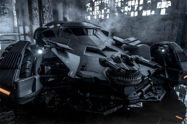 Batman v. Superman Batmobile Photo - Zack Snyder