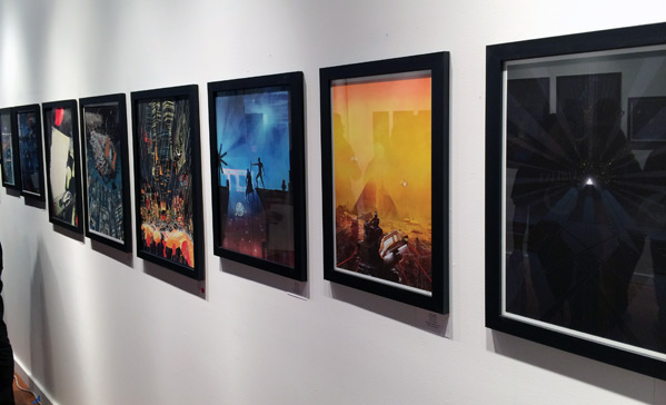Blade Runner Art Show - Bottleneck Gallery