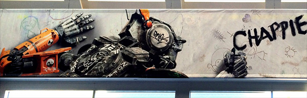 Neill Blomkamp's Chappie - Comic-Con Artwork