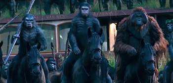 Dawn of the Planet of the Apes TV Spot