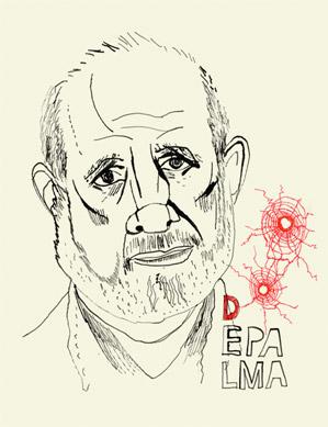 Brian De Palma Portrait