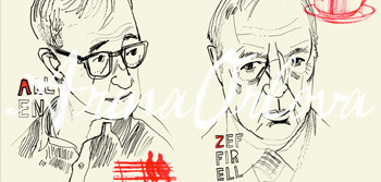 A to Z Film Directors Portraits by Arina Orlova