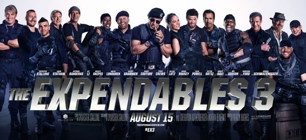 The Expendables 3 Banner