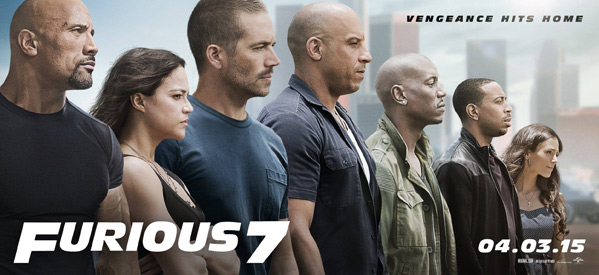 Furious 7 Promo Banner