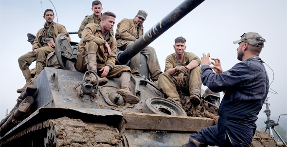 David Ayer Directing Fury