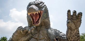 Godzilla Japanese Statue