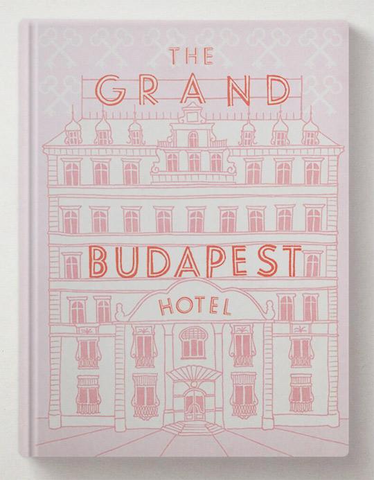 Grand Budapest Book