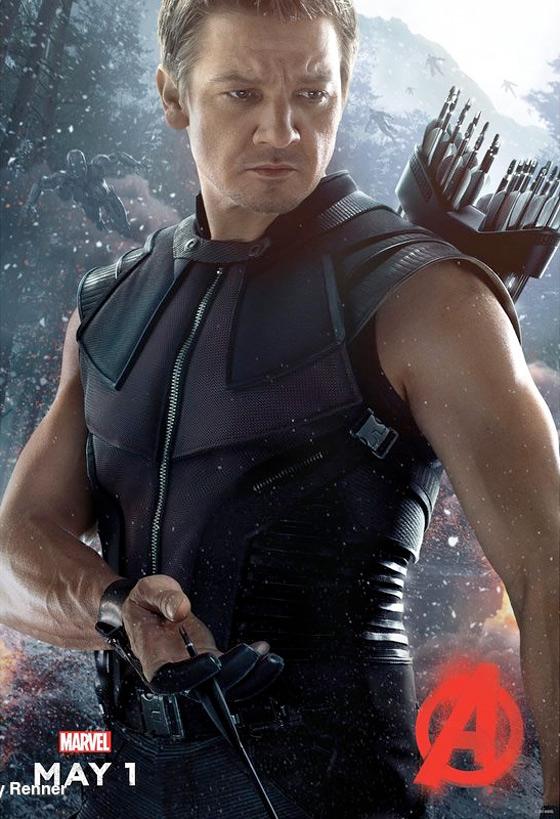 Hawkeye Avengers Ultron Poster