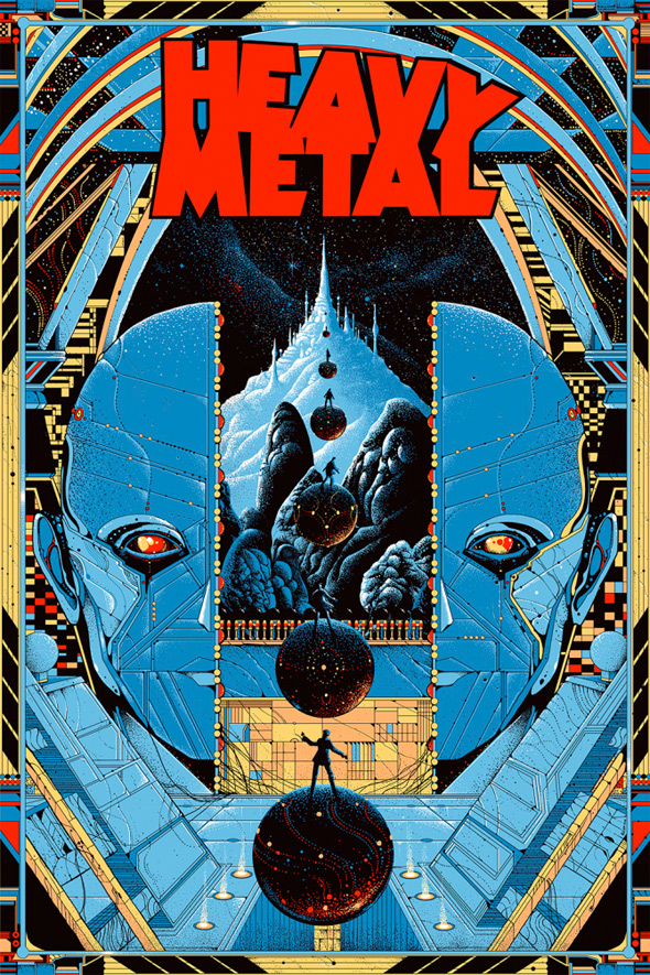 Heavy Metal Poster 2014