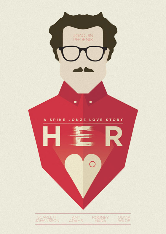Spike Jonze's Her Alternate Poster