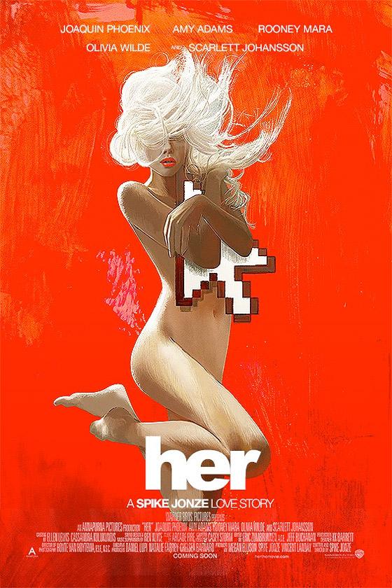 Spike Jonze's Her Alternate Poster
