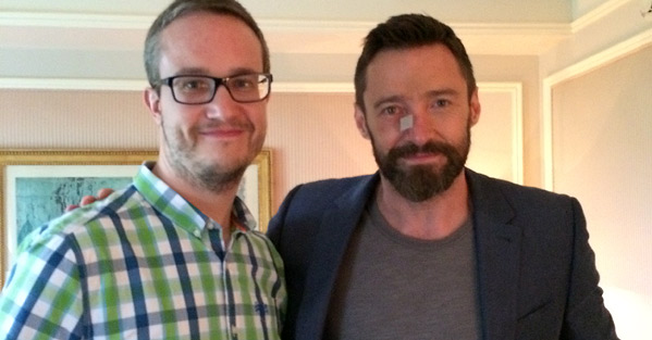Alex Billington & Hugh Jackman