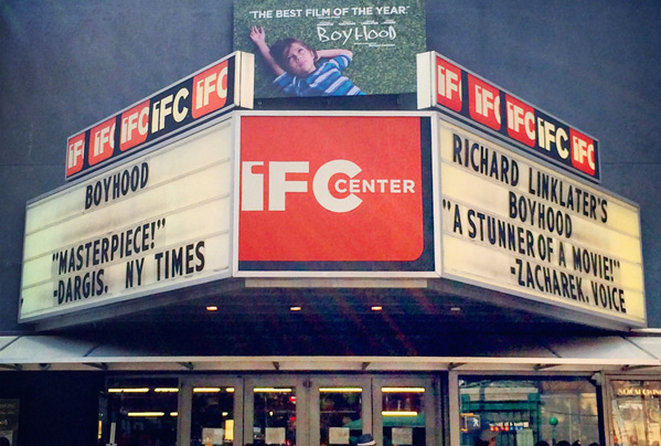 IFC Center Marquee Image