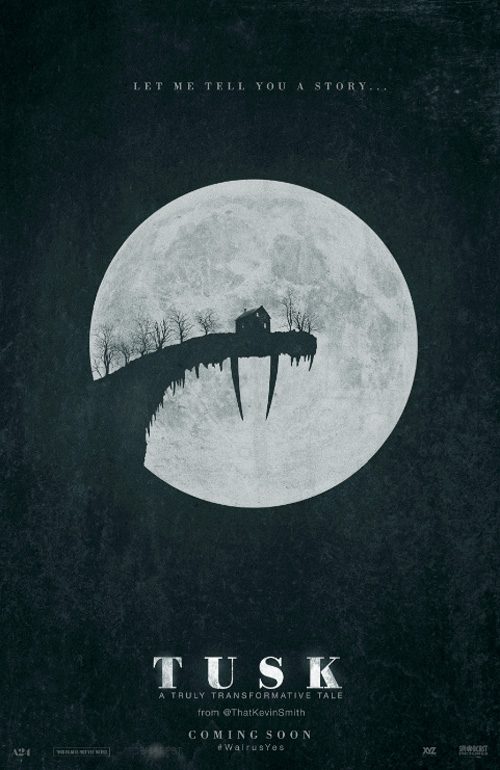 Kevin Smith's Tusk Poster