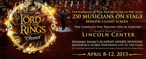 Lord of the Rings Trilogy Live in Concert
