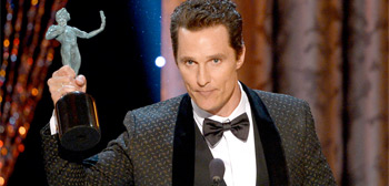 Screen Actors Guild Awards - Matthew McConaughey