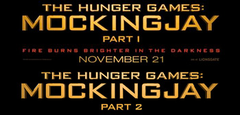 Mockingjay Part 1 & 2