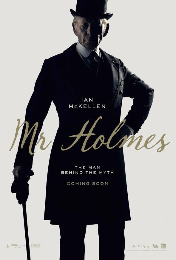 Mr. Holmes Teaser Poster