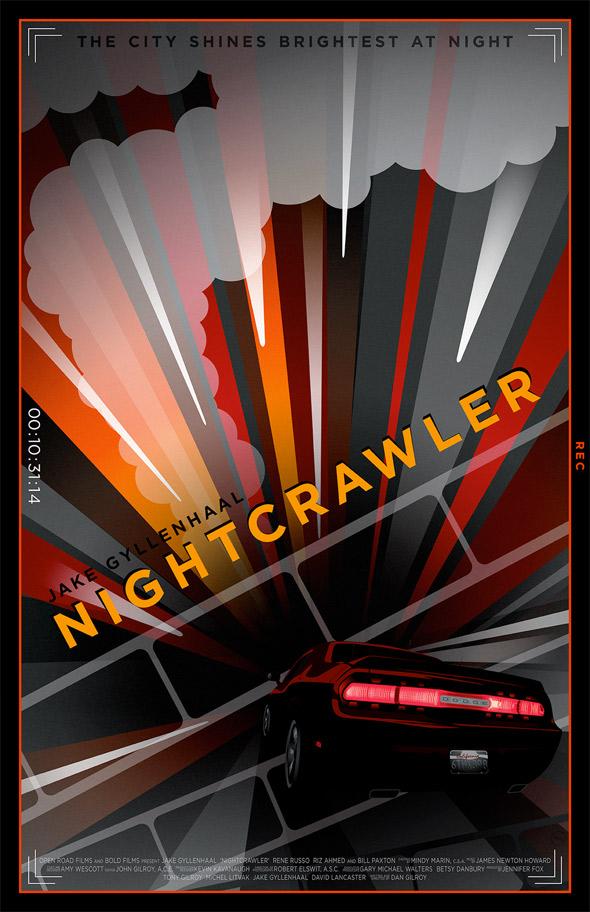 Nightcrawler Alternative Poster Art