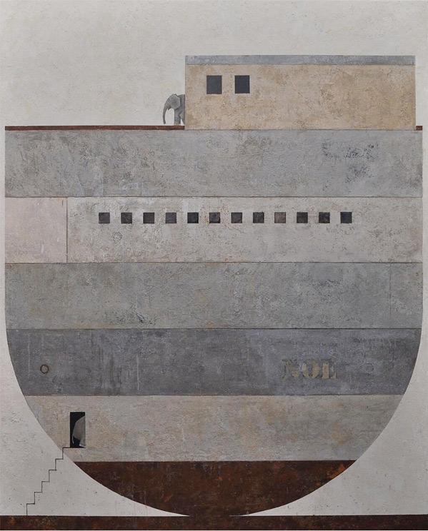 Darren Aronofsky Noah - Artwork by Carmen Arvizu