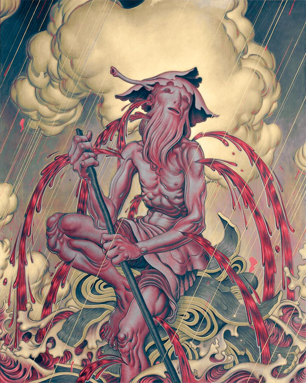 Darren Aronofsky Noah - Artwork by James Jean