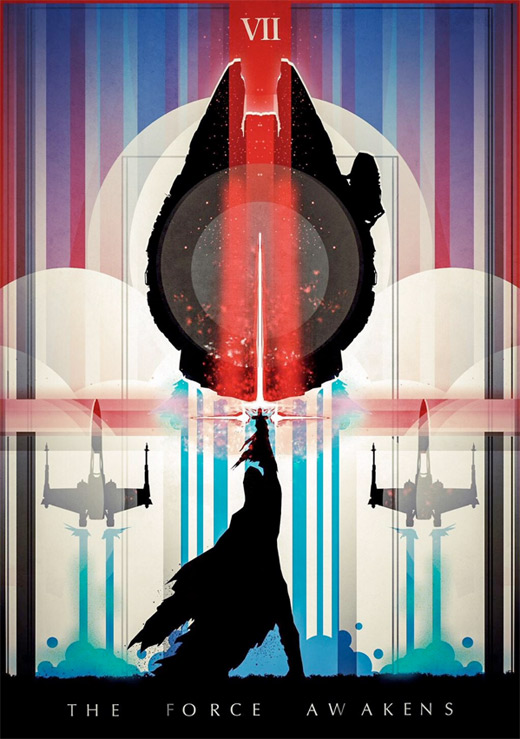 Star Wars: The Force Awakens - Fan Poster