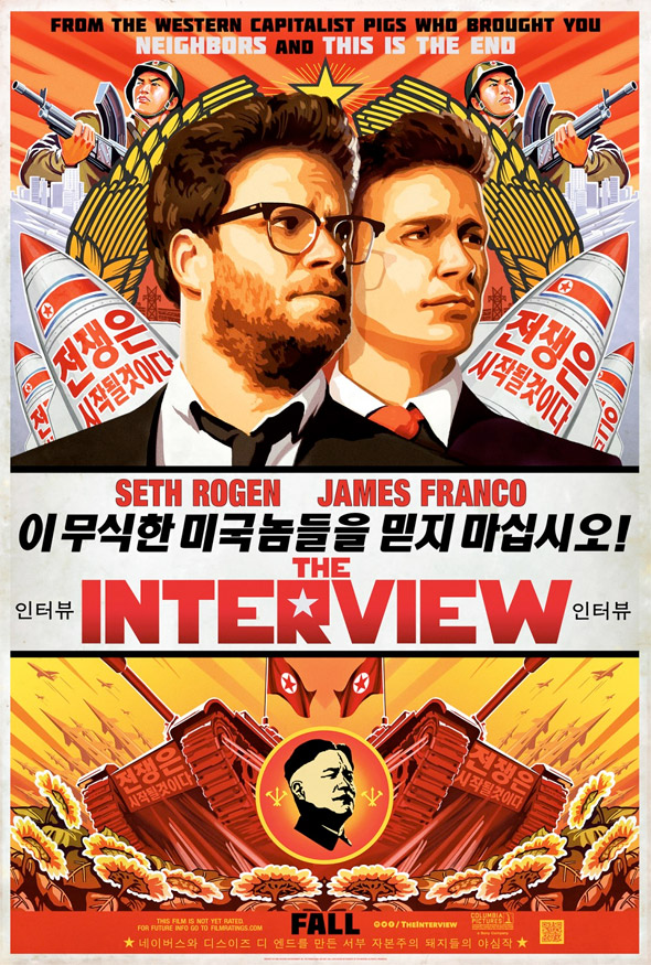 The Interview Poster Propaganda