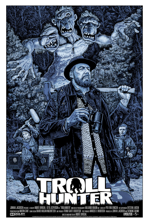 Trollhunter FAMP Art Poster - Chris Weston