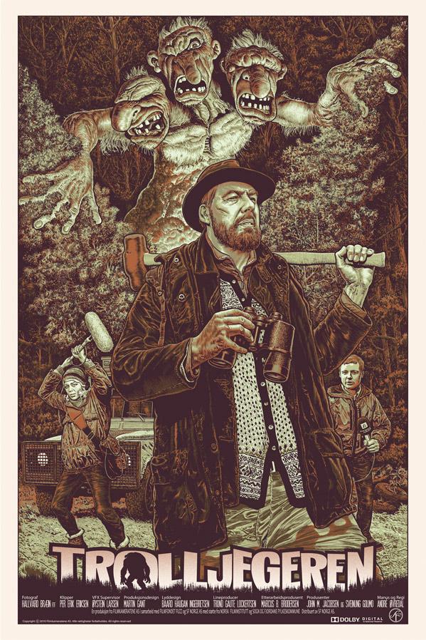 Trollhunter FAMP Art Poster - Chris Weston