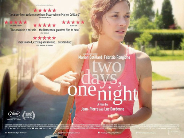 Two Days, One Night UK Poster