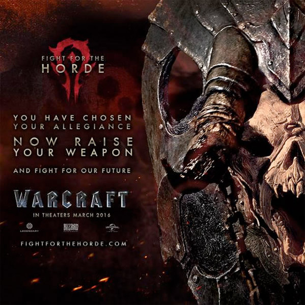 Warcraft Movie Poster - Horde