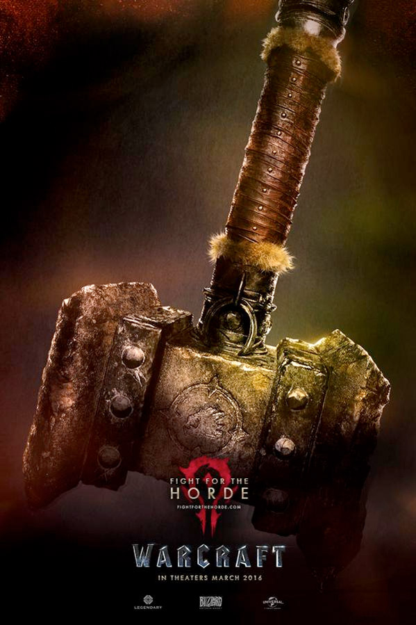 Warcraft Movie Poster - Horde
