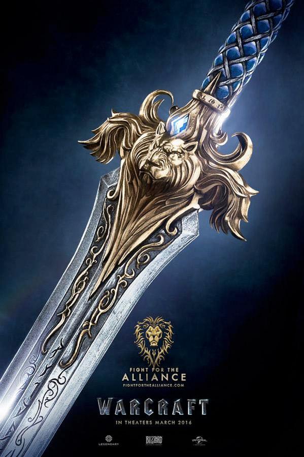 Warcraft Movie Poster - Alliance