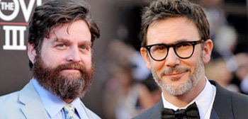 Michel Hazanavicius & Zach Galifianakis