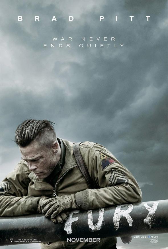 David Ayer's Fury - Brad Pitt