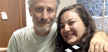 Jon Stewart's Rosewater Beard