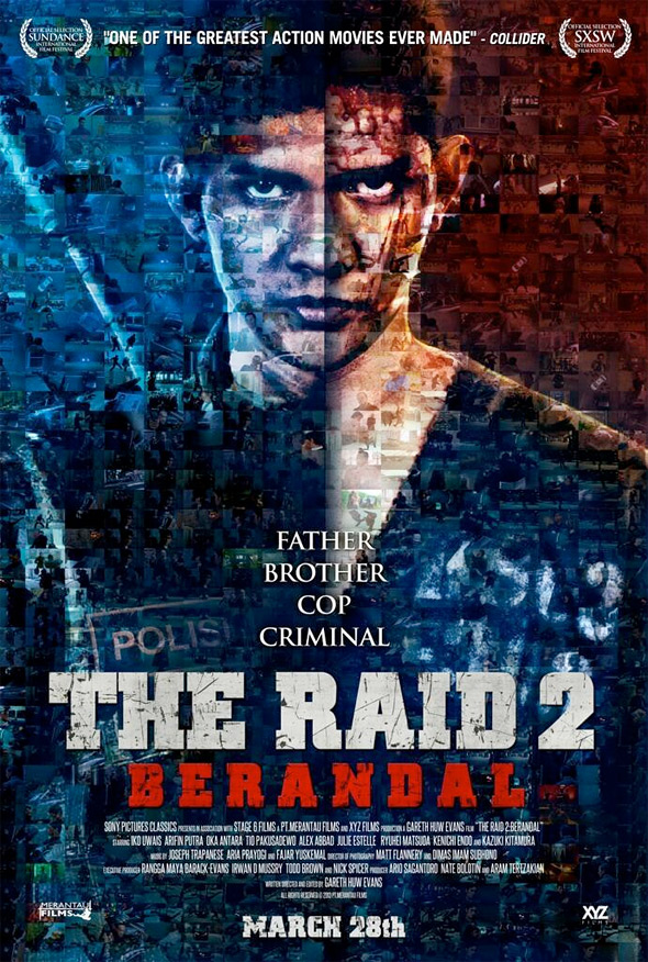 The Raid 2: Berandal Poster