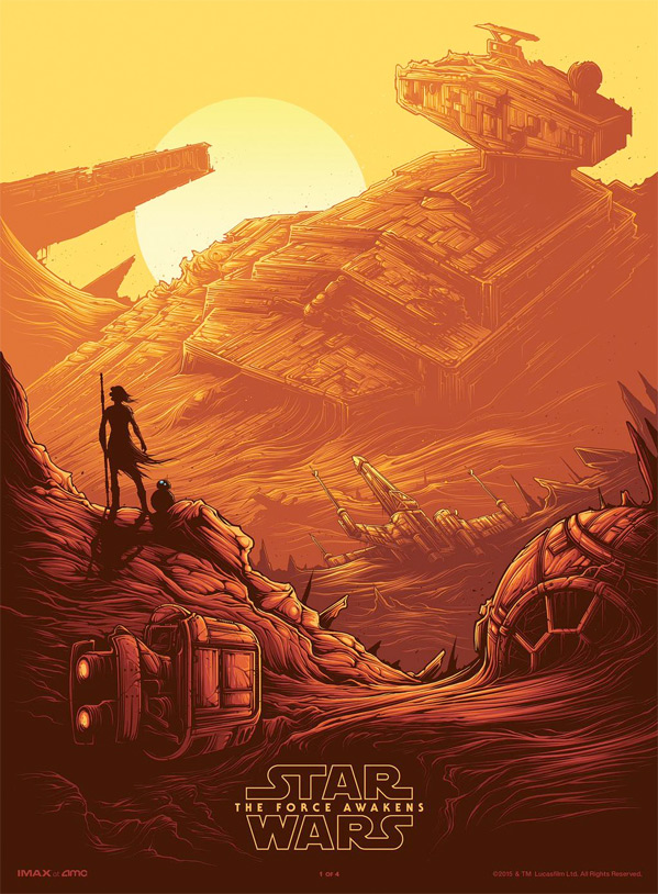 Star Wars - The Force Awakens - AMC Poster Art
