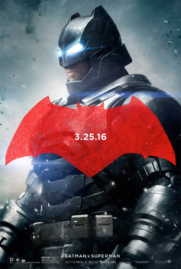 Batman v Superman - Character Poster - Batman