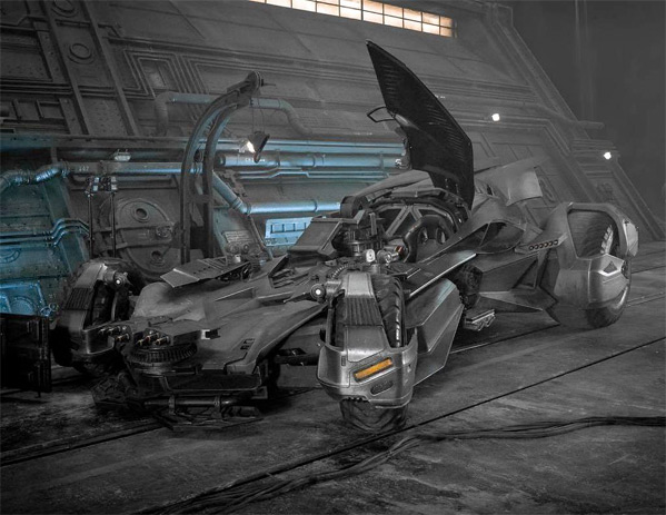 Batmobile from Justice League