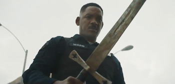 First Teaser Trailer for David Ayer's Orcs Movie 'Bright' with Will Smith